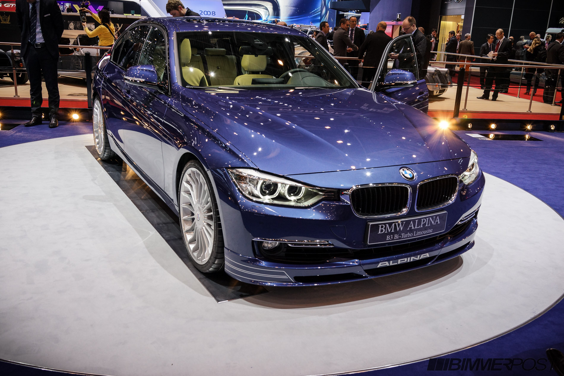 Geneva Alpina B F Debuts With Full Specs - Bmw alpina price range